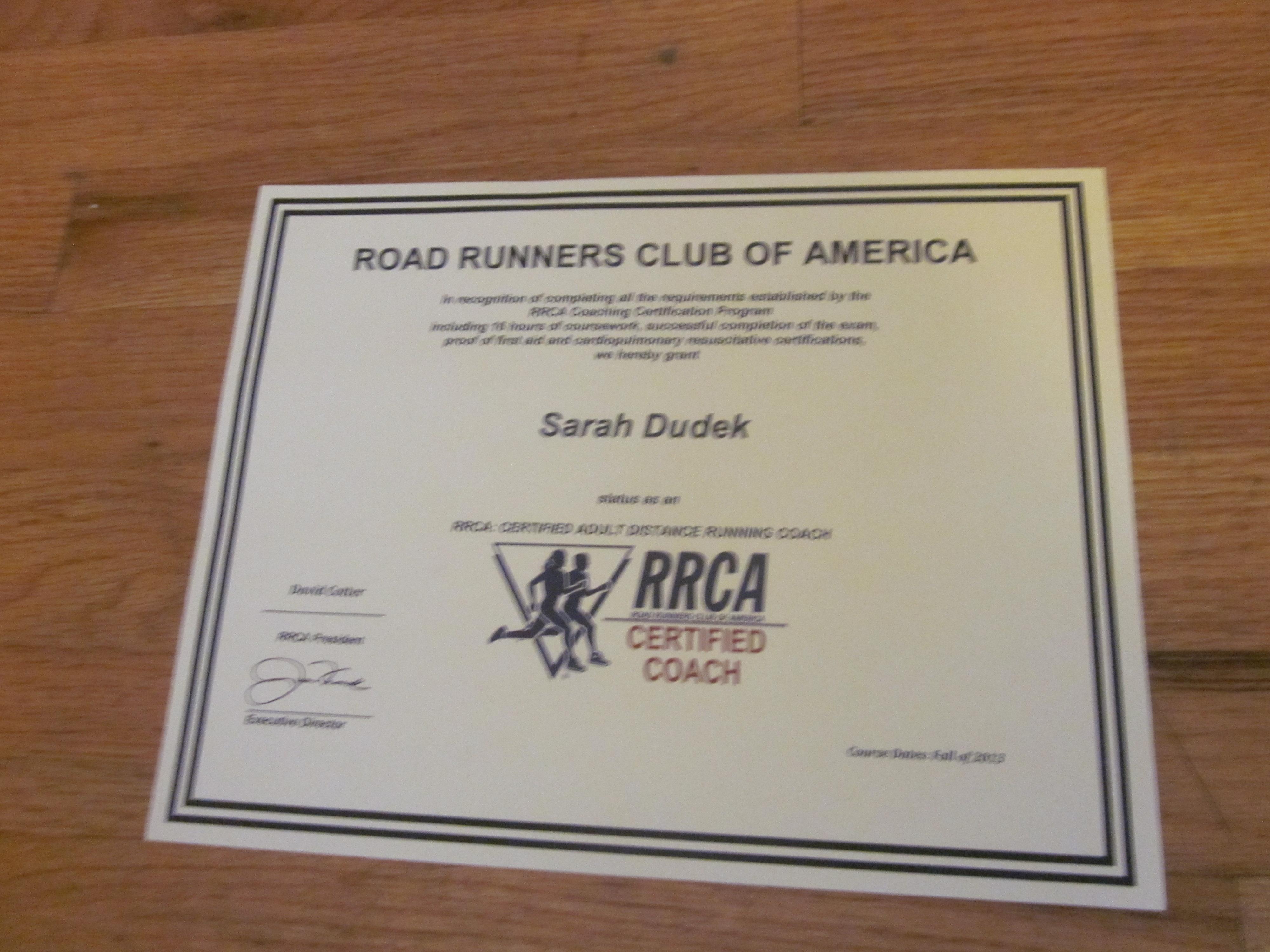 Rrca Running On Healthy