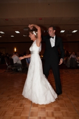 Best night of my life.  Dancing with my best friend and running partner in crime.