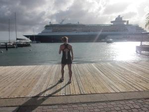 That time I got to run in Aruba wasn't so bad.