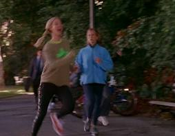 If you run like Phoebe I recommend you reassess your form.