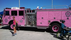 Found this cool fire truck on my run yesterday.