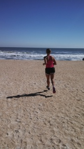 Maybe you can run on a beach!