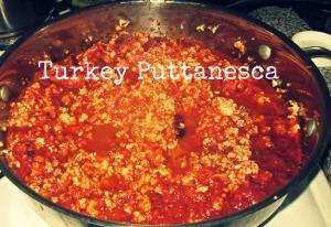 turkey with puttanesca