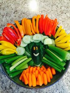 My friend Shandy makes this veggie turkey.  I just love it!